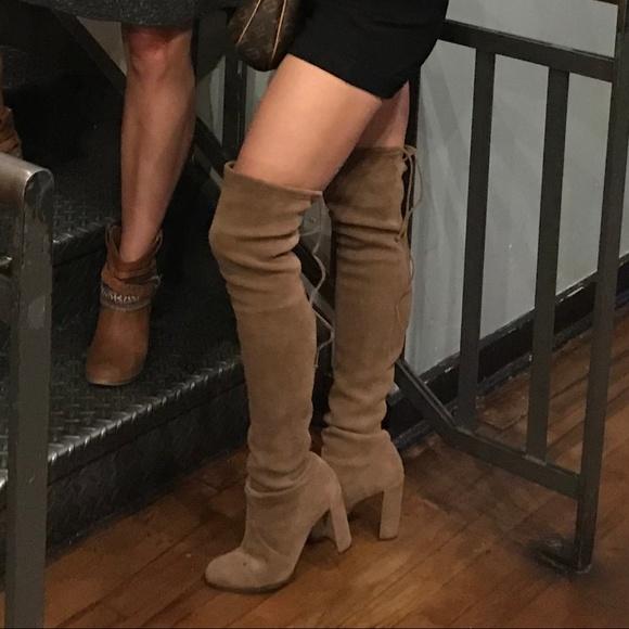 7149f9a3561 Stuart Weitzman Hiline Boots Nutmeg Size 7. M 5afd85fddaa8f6d397c3abae
